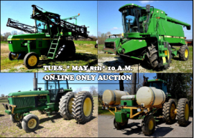 Equipment Auction - On-Line Only