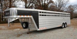 ONLINE ONLY AUCTION - 2017 CIMARRON STOCK TRAILER