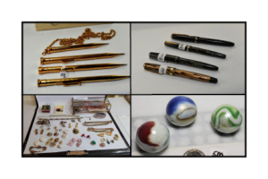 Online Only - Collections of Harry David - Vintage Pens, Pencils, Marbles, Jewelry & More