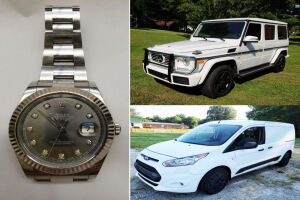 Bankruptcy Online Auction - Vehicles & Watch