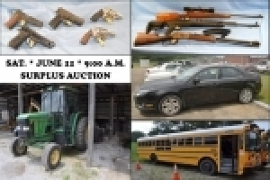 Weakley County Surplus Auction - 6/11/16