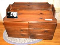 TOY CHEST --CONTENTS NOT INCLUDED--