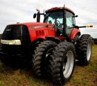 2010 CASE IH 245 MAGNUM TRACTOR - 2,531.2 HOURS - CAB UPHOLSTRY CLEAN AND GOOD - A/C WORKS - CLIMATE CONTROLLED - 4  WHEEL ASSIST - QUICK HITCH - 4 CYLINDER  HOOK-UPS - DRAW BAR - 1,000 RPM SHAFT - GPS - FRONT TIRES:  FIRESTONE  14.9R34 380/85R34 DUALS -