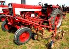 1973 INTERNATIONAL FARMALL 666 TRACTOR - 8,272.2 HRS. - FRONT & REAR CULTIVATORS INCLUDED, 4  ROW FRONT AND 3 ROW REAR - 2 CYLINDER  HOOK-UPS - TRACTOR REPAINTED - NO DECALS -  NEW SEAT - REAR TIRES WORN - GOOD CONDITION -  ID# 2450151U009161