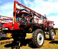 CASE IH PATRIOT 3320 SPRAYER - 2,257.9 HRS. - 1,000 GALLON SPRAYER - 90' BOOMS - MD.#  SPX3320 - AG LEADER MONITOR - CAB IS CLEAN -  INTUICOM RTX BRIDGE - X 4G HORIZON MODEL -  UPHOLSTERY IS GOOD - A/C WORKS - FRONT TIRES:   FIRESTONE 380/90R46 RADIAL  RC