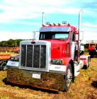 1997 PETERBILT MODEL 379 TRACTOR - 1,226,189 MILES - DAY CAB  - DETROIT DIESEL SERIES 60 -  FULLER EATON TRANSMISSION  - CHELSEA PTO -  FIFTH WHEEL - BOSTON L50  BUCKET SEATS -  DRIVER'S SEAT HAS SOME CRACKS - GOOD  CONDITION - REPORTED OVERHAUL AT 1MM MI