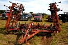 CASE IH 365 FIELD CULTIVATOR - 27' - 2 SHANKS BROKEN ON FRONT - BASKETS - AVERAGE CONDITION  FOR AGE - ID# 4590000U011485