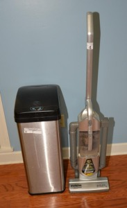 EUREKA VACUUM CLEANER & AUTOMATIC SS TRASH CAN
