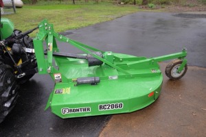 JOHN DEERE FRONTIER RC2060 ROTARY MOWER, SLIP CLUTCH, LIKE NEW