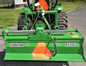 FRONTIER RT1157 REAR TILLER (LIKE NEW)