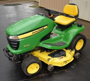 JOHN DEERE X360 MOWER - 127.3 HRS.