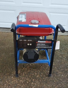 POWER BACK ELECTRIC GENERATOR - 5000 WATTS