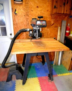 CRAFTSMAN RADIAL SAW - 2.5 HP