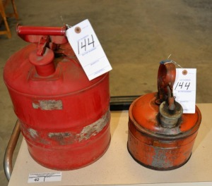 (2) SAFETY GAS CANS -