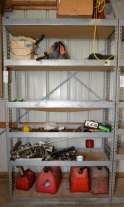 "METAL SHOP RACK - 47.5"" WIDE x 7' TALL"