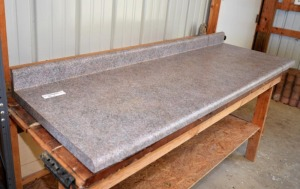 COUNTER TOPS - 2 PIECES - FORMICA- WITH BACKSPLASH