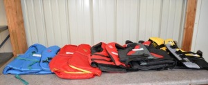 (5) WATER SKI VESTS LIFE JACKETS