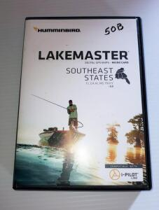 LAKEMASTER DIGITAL GPS MAPS MICRO CARD - SOUTHEAST