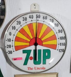 """7UP The Uncola"" THERMOMETER"