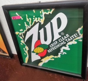 (6) 7UP ADVERTISEMENTS