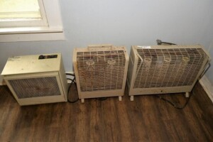 ELECTRIC 220 HEATER -- TWO AND THREE STACK AND