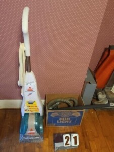 BISSELL QUICK STEAMER CLEANER -- KIRBY HERITAGE