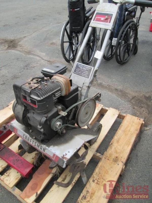 Craftsman Front Tine Tiller 5hp 18 Cut Model 917 299440 Cur Price 42