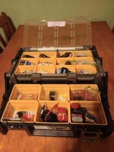 KETER ORGANIZER STORAGE - ELECTRIC SUPPLIES -