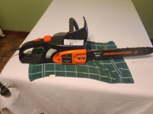 (2) ELECTRIC SAWS - REMINGTON ELECTRIC CHAIN SAW