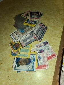 FLEER BASEBALL CARDS - CIRCA 1990