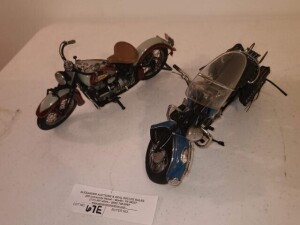 "(2) TOY REPLICA ""INDIAN"" MOTORCYCLES"
