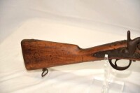 OLD CIVIL WAR MUSKET - PERCUSSION GUN - 2