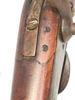 OLD CIVIL WAR MUSKET - PERCUSSION GUN - 9