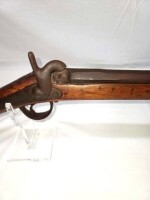 OLD CIVIL WAR MUSKET - PERCUSSION GUN - 12
