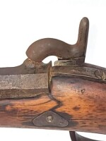 OLD CIVIL WAR MUSKET - PERCUSSION GUN - 26