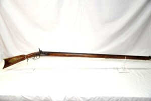 "PERCUSSION LONG RIFLE - ""PERIN GAFF MFG. CO."" -"