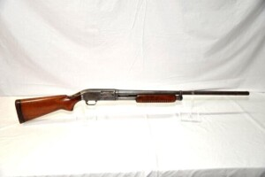 J.C. HIGGINS MODEL 20 PUMP SHOTGUN - 12 GAUGE