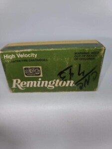 (44) REMINGTON 25 AUTO - 50 GRAIN METAL CASE