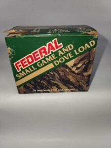 FEDERAL SMALL GAME AND DOVE LOAD - 12 GA.