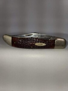CASE XX - TWO BLADES - #6265SAB - BROWN HANDLES -