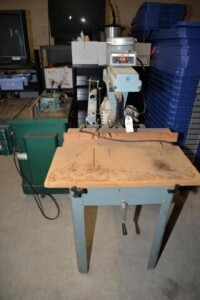DELTA RADIAL ARM SAW - S/N #93F16341 - CONDITION