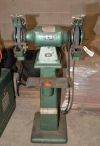 POWERMATIC STAND GRINDER - DOUBLE WHEEL -