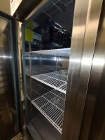 SERV-WARE STAINLESS COMMERCIAL REFRIGERATOR - 4
