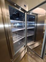 SERV-WARE STAINLESS COMMERCIAL REFRIGERATOR - 6