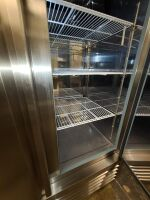 SERV-WARE STAINLESS COMMERCIAL REFRIGERATOR - 7