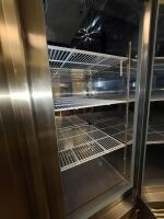 SERV-WARE STAINLESS COMMERCIAL REFRIGERATOR - 8