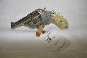IVER JOHNSON ARMS & CYCLE WORKS 38 CAL. REVOLVER - TOP BREAK