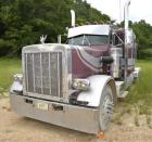 1984 PETERBILT TRACTOR - VIN: 1XP9DB9X8EP175701 -Miles: -Engine: CATERPILLAR 14.6L L6 DIES -Color: MAROON & GREY STRIPPED- EATON FULLER TRANSMISSION- 13 SPEED