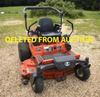 "TRUSTEE HAS WITHDRAWN FROM AUCTION:  KUBOTA 2D-21 ZERO TURN MOWER - 567 HRS. - DECK: RCK-60P-21Z- ROLL AR - ZD CONTROL - 60"" DECK -S/N 30108"