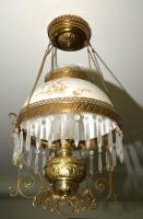 VICTORIAN HANGING PARLOR LIGHT -